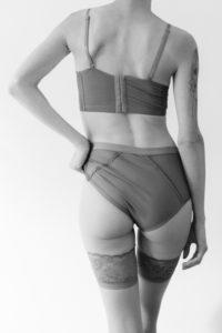 Girl posing lingerie