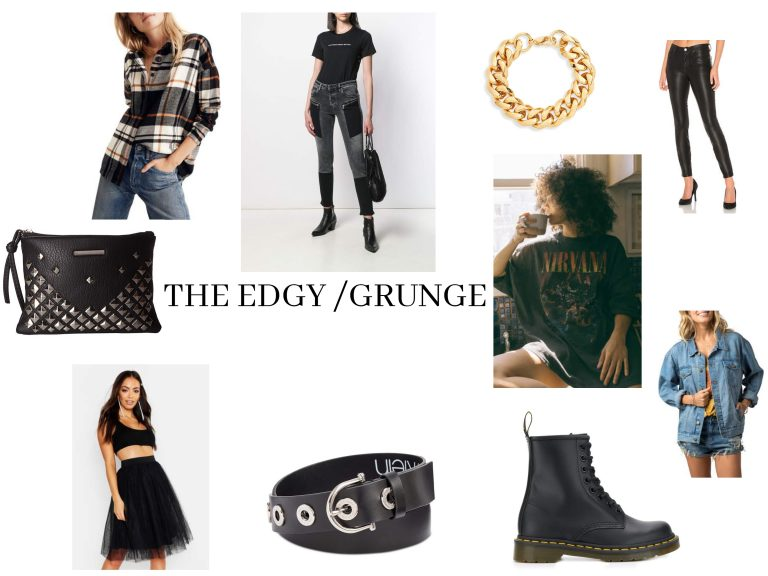 Grunge/Edgy fashion personality