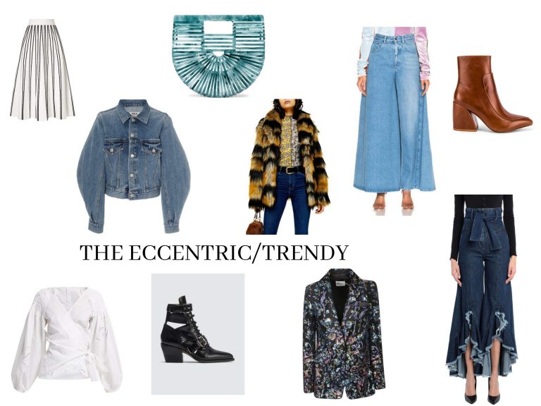 Trendy and Eccentric Fashion collage