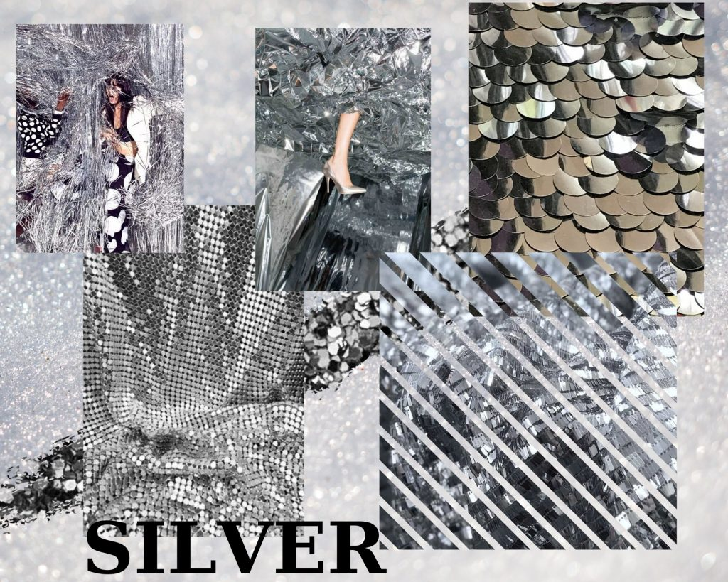 Silver Collage Inspiration fashion