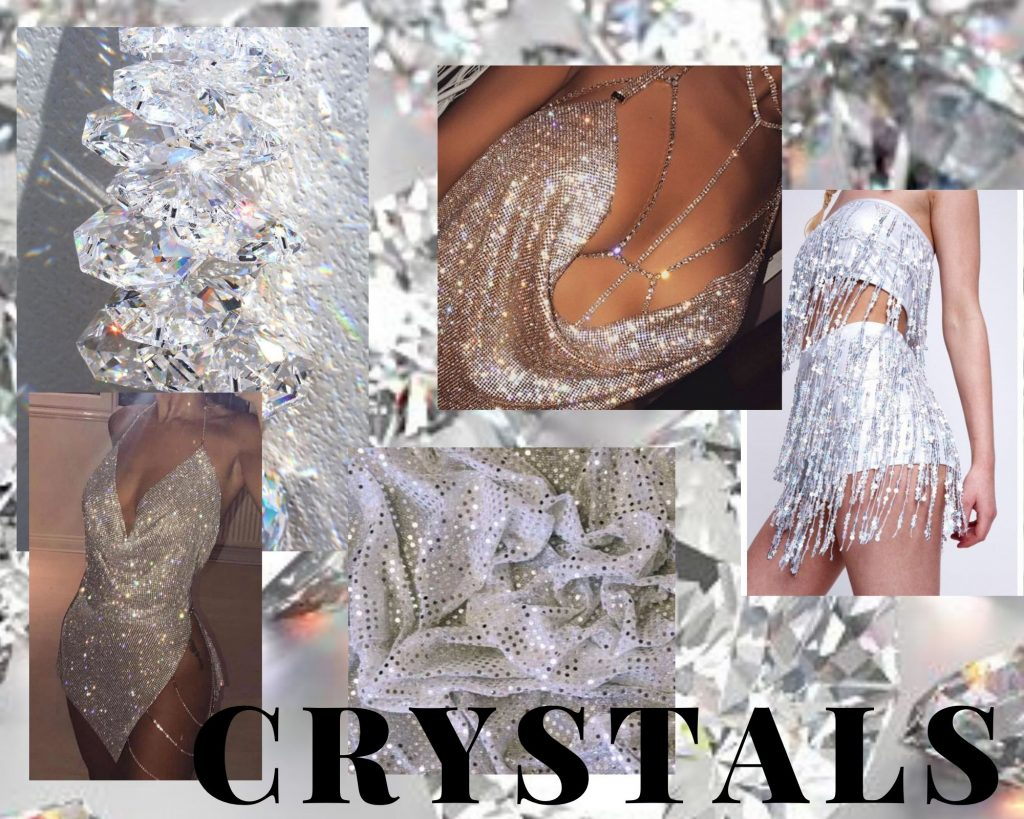 Crystals collage inspiration