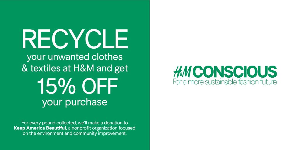 h&m fashion recycle