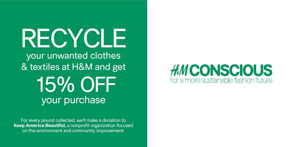 h&m fashion recycle