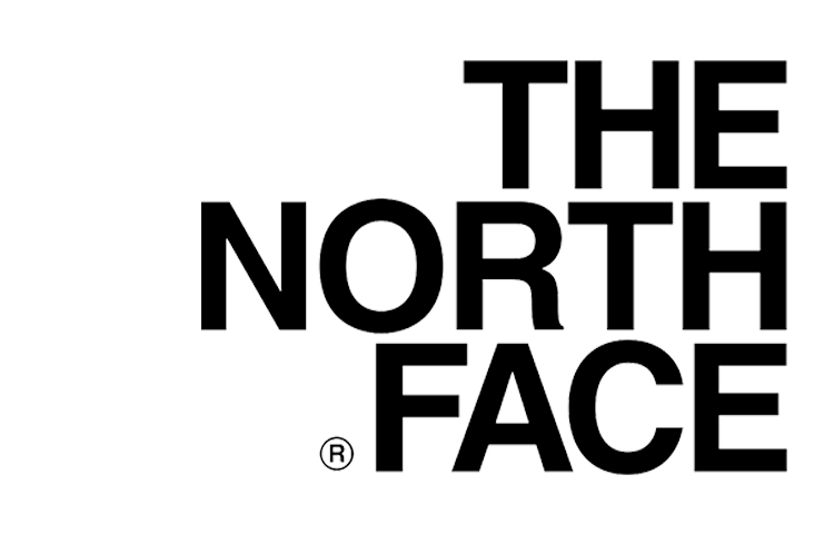 North Face fashion logo