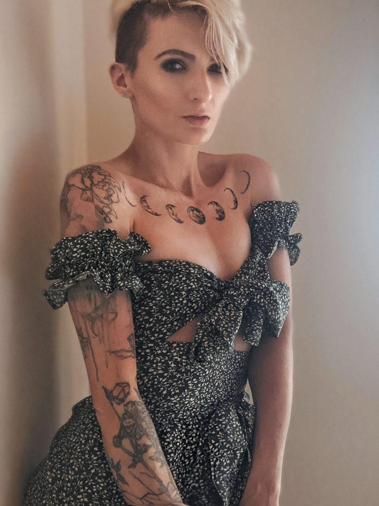 Summer Dress Model