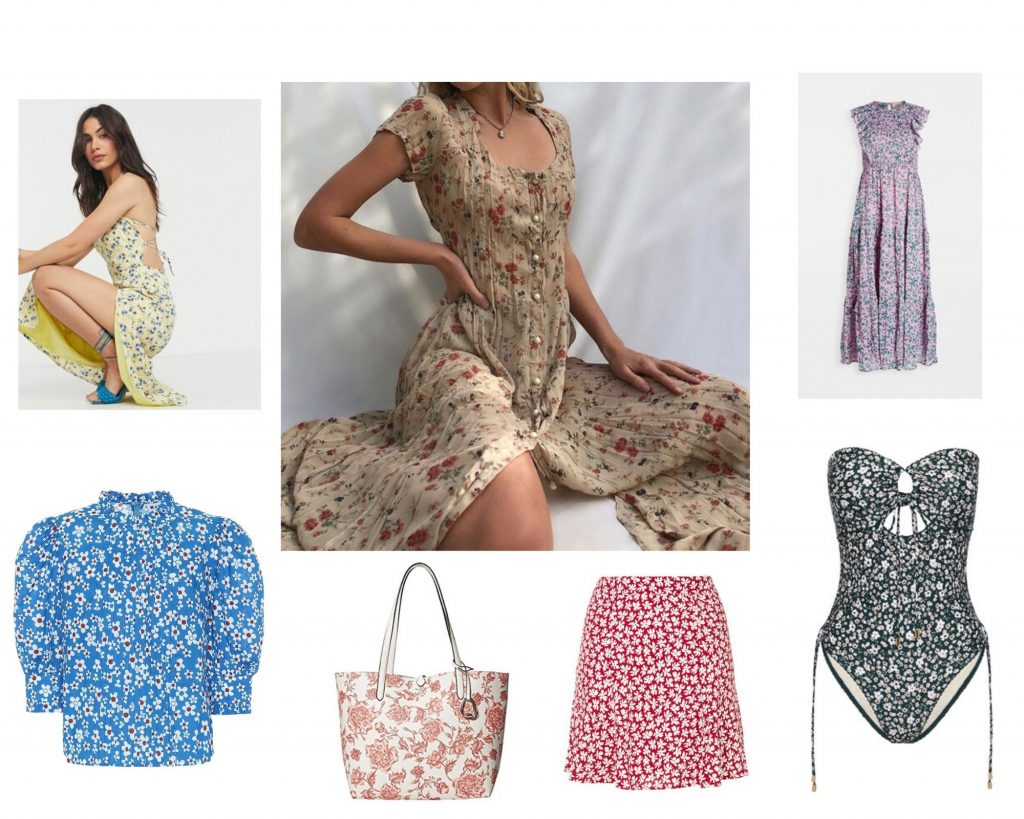 floral print fashion trend